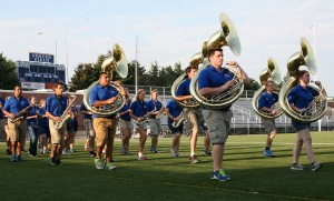 Pride of the Plains band in step with family atmosphere