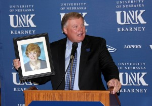 PHOTO GALLERY: Carol Cope donation news conference