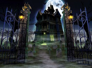 Haunted House Stock