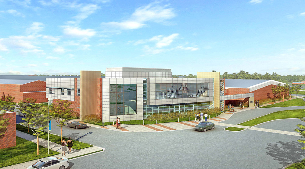 Ground was broken on the UNK Wellness Center project in April, and the $6.5 million facility is expected to open in May 2014. The center includes program and research space for UNK's nationally-known exercise science education and research program, in addition to a large fitness center for students.