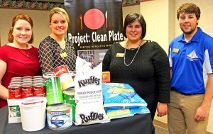 UNK donates food to The Salvation Army through Project: Clean Plate