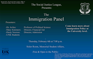 Immigration panel to focus on campus issues