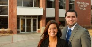 Schulte, McKelvey named UNK student body president, VP