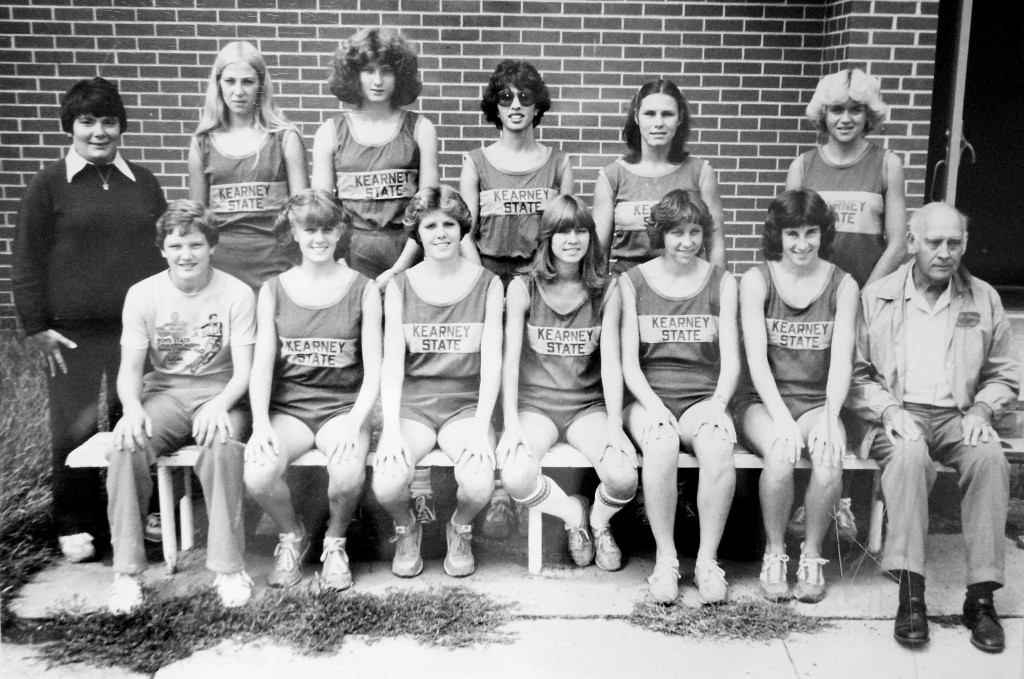 1980 UNK Women's Cross Country Team