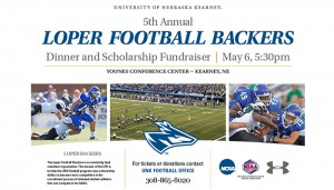 Loper Football Backers to host fifth fundraising event May 6
