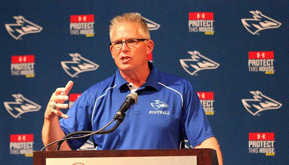 UNK Head Coach Darrell Morris
