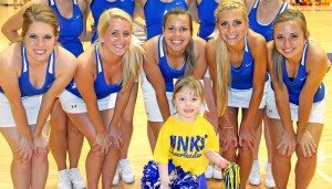 UNK Cheer Squad names honorary cheerleader for Shrine Bowl