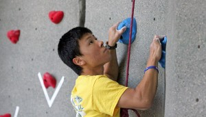 New fitness center features state-of-the-art equipment, rock wall