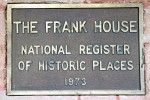 Frank House National Register copy