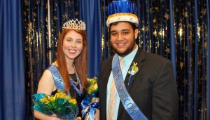Sergio Ceja, Cacia Lyon named UNK Homecoming royalty