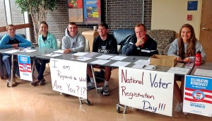UNK political science class registers 204 student voters