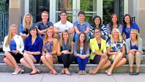 Eighteen named UNK Student Diplomats for 2014-15
