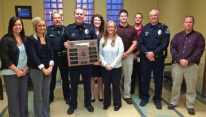 Criminal Justice Club recognizes K9 Frank, other police dogs