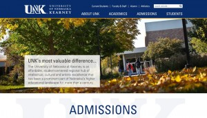 UNK Web Update: Redesign to improve look, usability of unk.edu