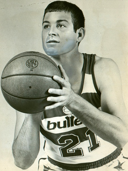 (COPY SCAN / the Omaha World-Herald) Scan from OWH file photo; Tom Kropp as a Washington Bullets player in 1976.