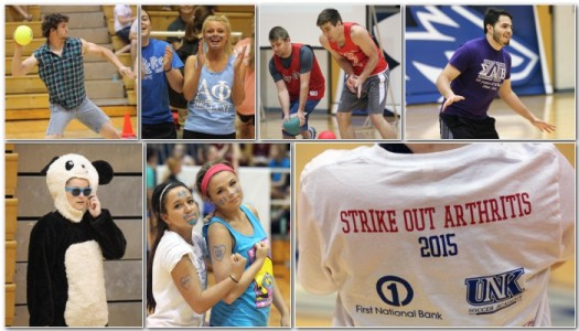 PHOTO GALLERY: AOII Goes Blue for Arthritis Dodgeball