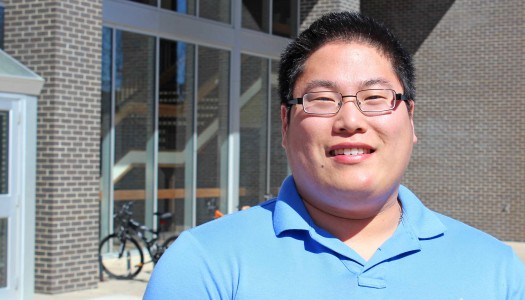 New student body president Evan Calhoun looks to increase attendance at campus events