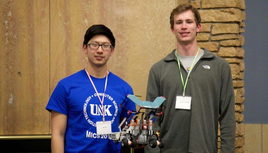 Computer science and IT Team third at robotics competition