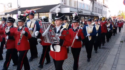VIDEO: Pride of the Plains Marching Band in Norway