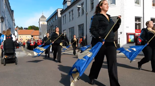 VIDEO: Pride of Plains Marching Band in Norway 2