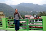 A recipient of the Phi Kappa Phi graduate fellowship, Natalie Hanisch currently is attending Rishikesh Yog Peeth in India to become certified as a registered yoga therapist. A May graduate at UNK, she is pursuing a master's degree in computer science at the University of Nebraska-Lincoln.