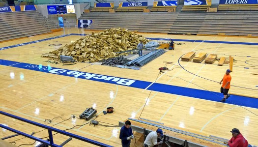 New arena seating tops list of $1.5 million in facility work for UNK athletics