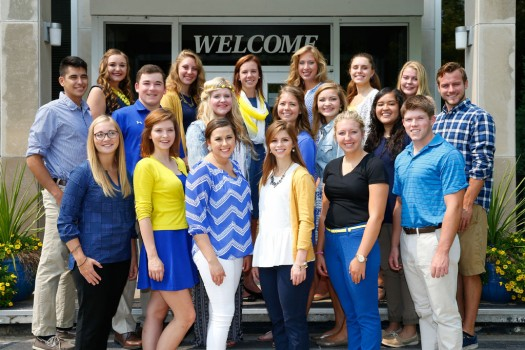 Twenty named UNK Student Diplomats for 2015-16