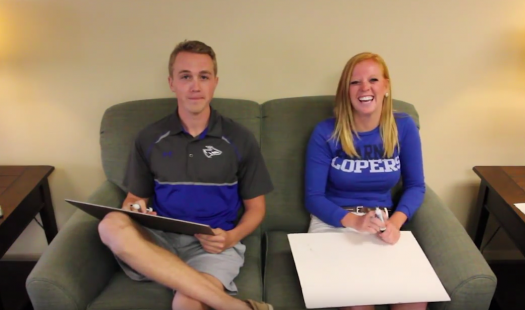 VIDEO: Homecoming Candidates Taylor Kittle and Josh Lallman