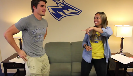 VIDEO: Homecoming candidates Carrie Prososki and Wyatt Schake