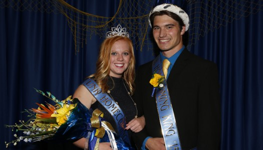 Wyatt Schake, Taylor Kittle named UNK Homecoming royalty
