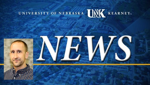 Brandon Hammond receives UNK Technology Excellence award