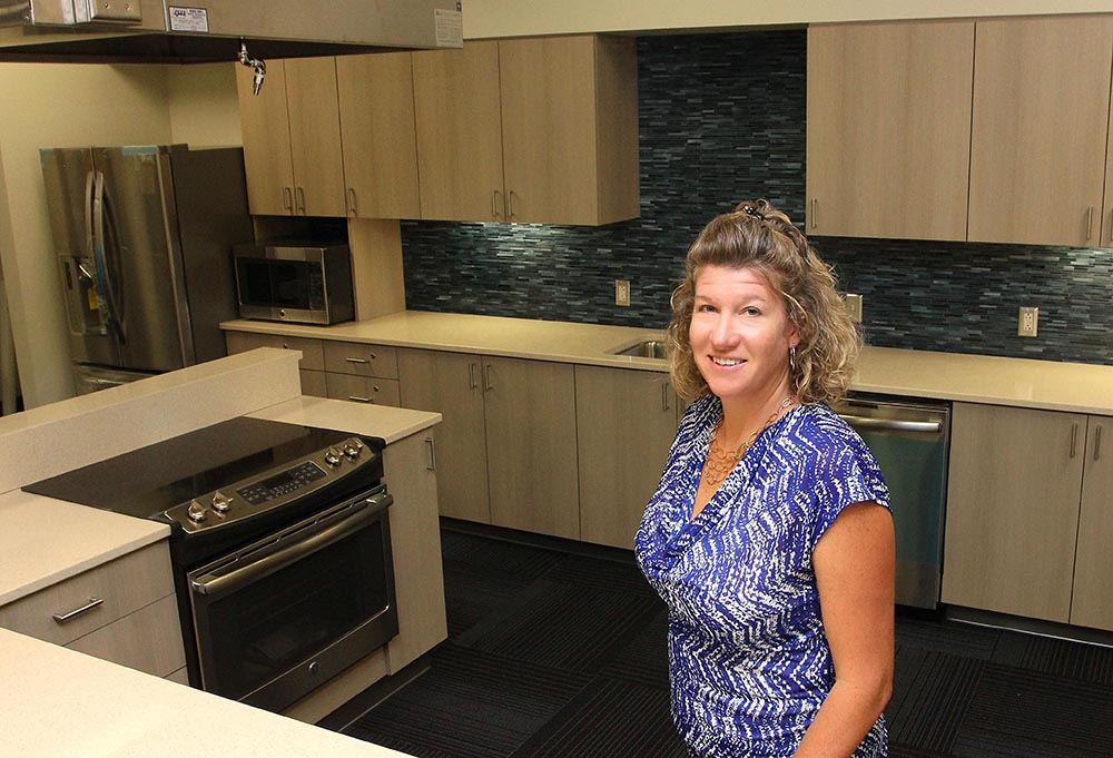 Kate Heelan Demonstration Kitchen