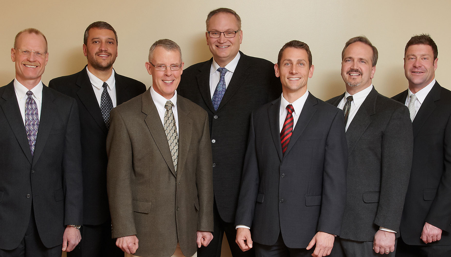 New West employs seven board-certified orthopaedic surgeons, and one certified Sports Medicine physician. They include, left to right: Daniel Slawski, David Huebner, Bernard Keown, Heber Crockett, Jim Mahalek, Nicholas Mansuetta and Ian Weber. Not pictured is Nolan May.