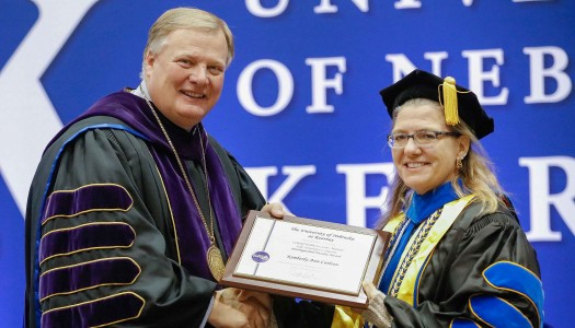 Kim Carlson receives Holdt Distinguished Faculty Award