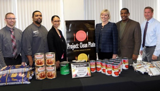 UNK donates 150 pounds of food to United Way of the Kearney Area