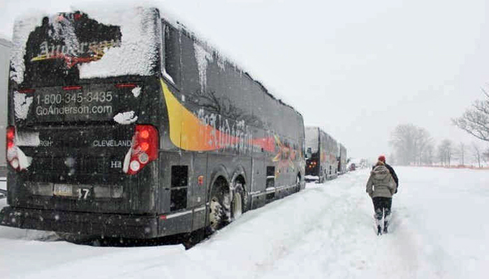 Bus Stranded