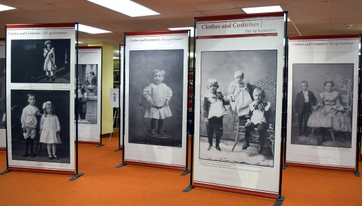 Photo exhibit at UNK library highlights 'Danish Children Growing Up American'