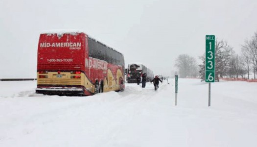 UNK students on way home after being stranded 24 hours in Pennsylvania storm