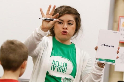 The Language Project: UNK students teach Spanish to Kearney Public Schools youth