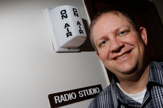 New to UNK, Ford Clark creating enthusiasm for campus radio