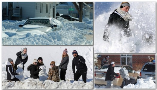 PHOTO GALLERY: Blizzard Cleanup and Fun