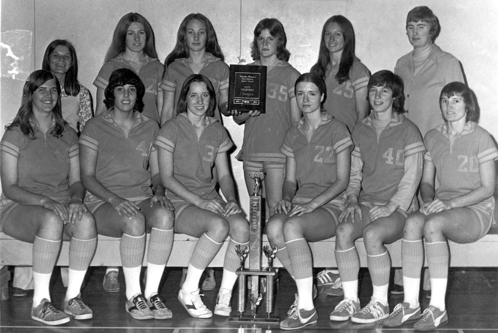 1974-75 Loper Volleyball Champs