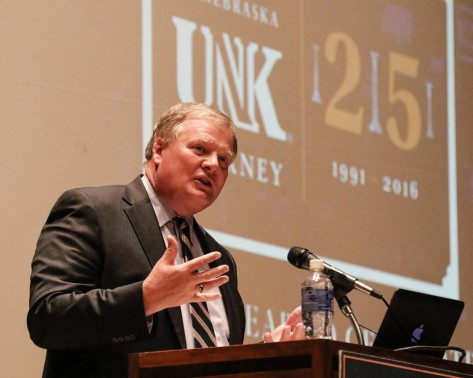 PHOTO GALLERY: UNK Year of Celebration Lecture