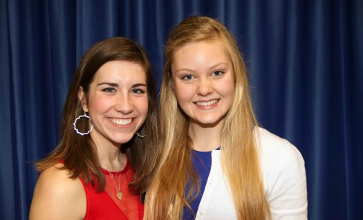 Rachel Flaugh, Paige Kordonowy picked to lead Student Government