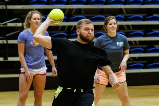 PHOTO GALLERY: Alpha Omicron Pi 'Strike Out Arthritis' dodgeball tourney