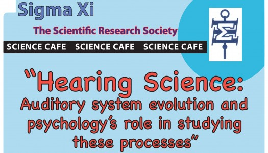 Science Café: Professor Evan Hill to discuss hearing science