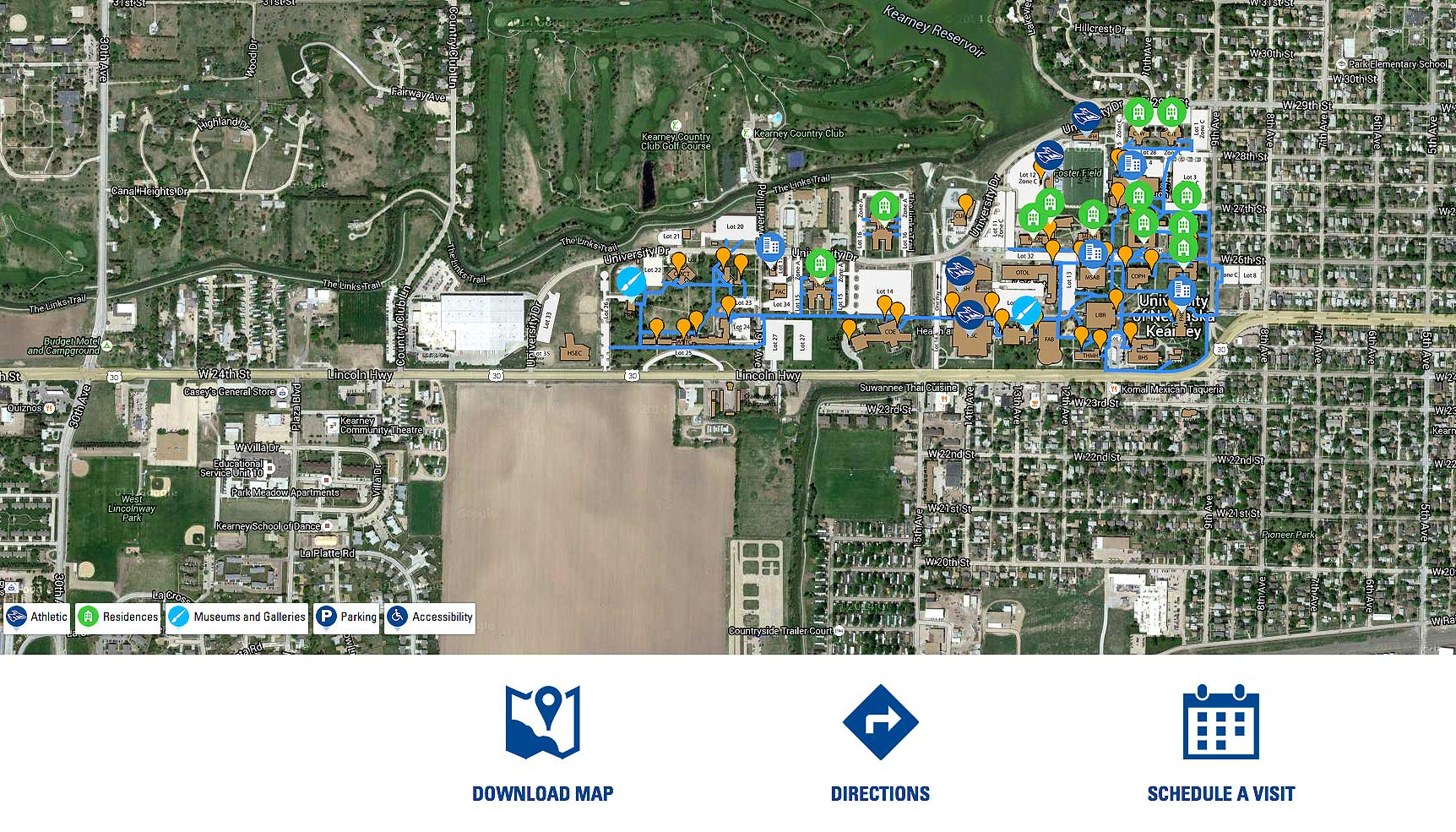LIVE NOW: New interactive campus map