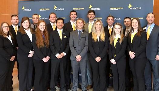 Enactus team named regional champs; Earns $1,000 award