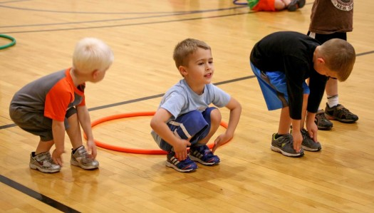 UNK students lead physical education classes for home schoolers