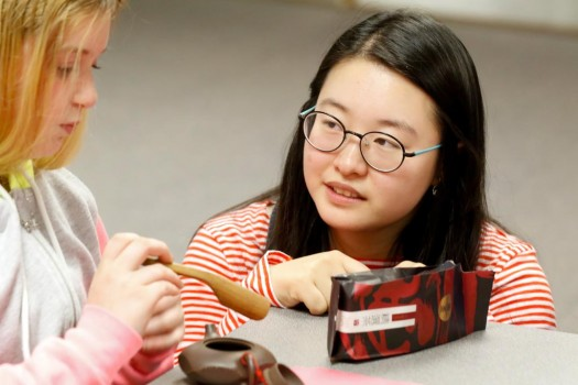 PHOTO GALLERY: Wood River students visit campus, learn about Chinese culture
